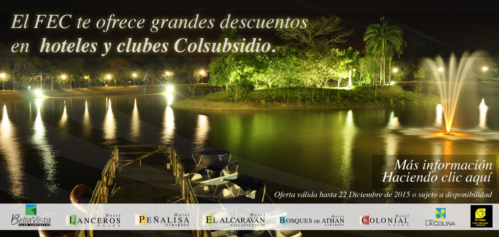 Hoteles y Clubes colsubsidio
