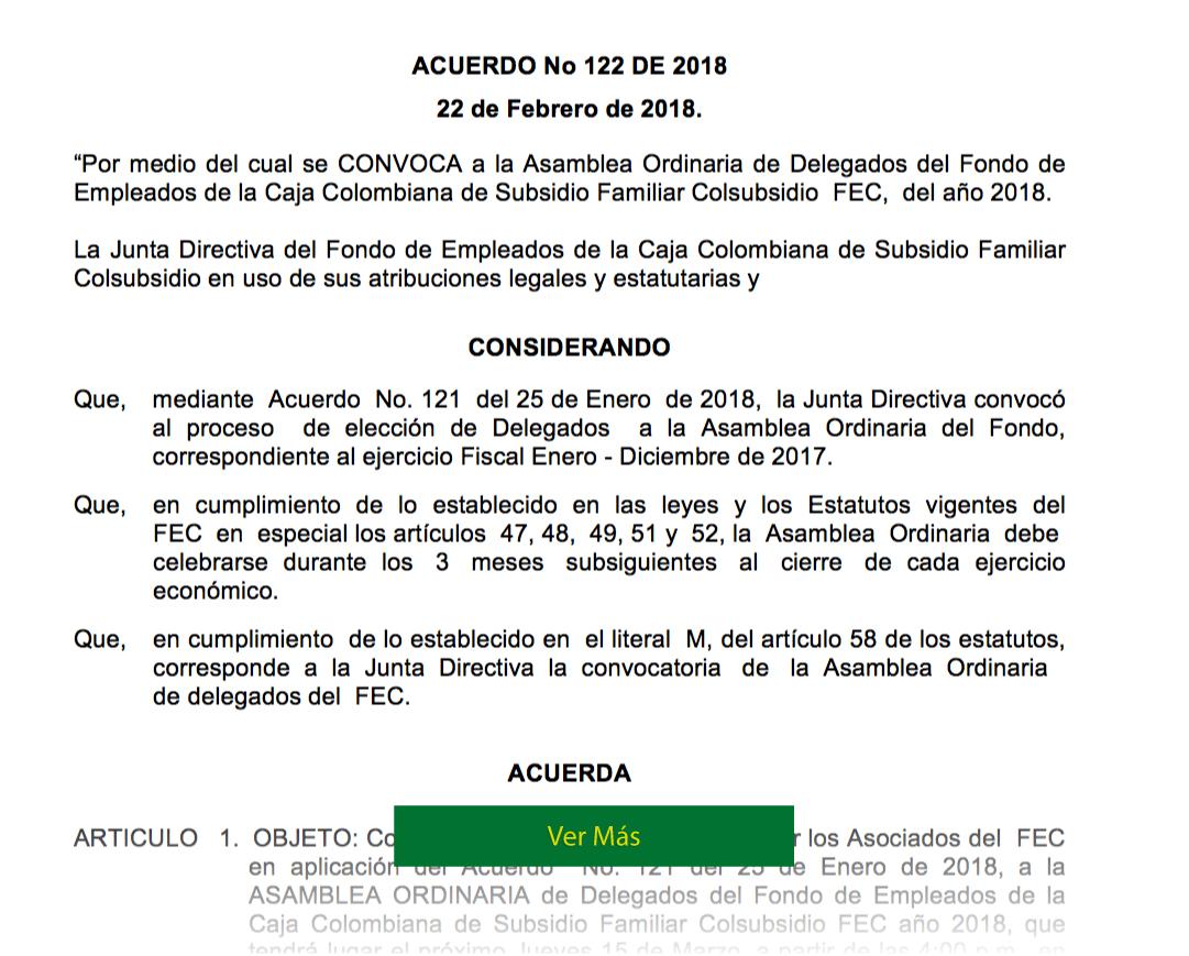 Asamblea FEC